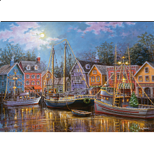 Ships Aglow - Large Piece Format - 500-999 Pieces