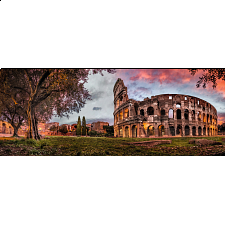 Panorama: Sunset Colosseum - Search Results