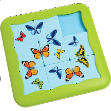 Butterflies - Sliding Pieces Puzzles