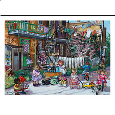 Alley Fun - Pauline Paquin - 1000 Pieces