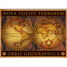 Antique Map - Orbis Geographica - 1000 Pieces