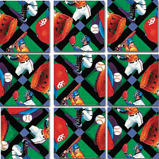 Scramble Squares - Baseball -
