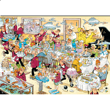 Jan van Haasteren Comic Puzzle - Seafood Supper - Specials