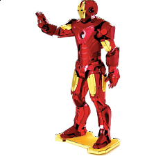 Metal Earth: Marvel - Iron Man - 3D
