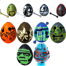 Group Special - A set of 12 Smart Egg Labyrinth Puzzles - New Items