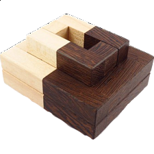 Two-Tone Zero - European Wood Puzzles