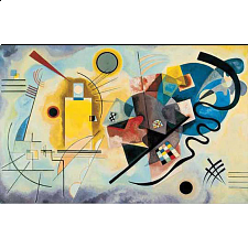 Museum Puzzle: Jaune Rouge Bleu, 1925 - Vassily Kandinsky - Search Results
