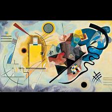 Museum Puzzle: Jaune Rouge Bleu, 1925 - Vassily Kandinsky - 1000 Pieces