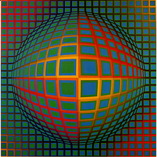 Museum Puzzle: Vega-Nor - Victor Vasarely - New Items