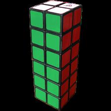WitEden 2x2x6 Cuboid Cube - Black Body -