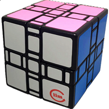 limCube 3x3x3 Mixup Ultimate Cube - Black Body - Other Rotational Puzzles