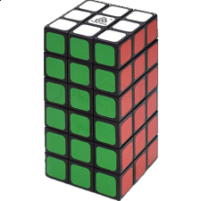 WitEden 3x3x6 Cuboid Cube - Black Body - Search Results