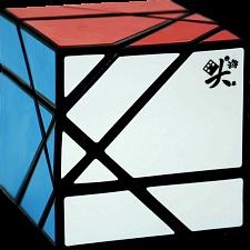 Tangram Cube - Black Body -