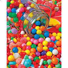 Gumballs & Gumdrops - 1000 Pieces