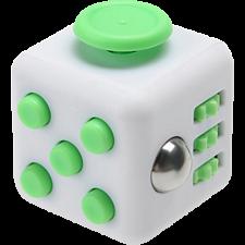 Original Anti Stress Fidget Cube - Green & White - Games & Toys