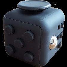 Original Anti Stress Fidget Cube - Black - Geeky Gadgets