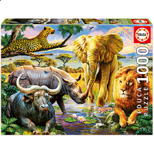 The Big Five - 1000 Pieces