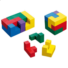 Inspiration Cube - European Wood Puzzles