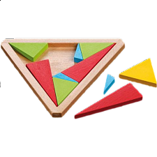 Triangular Puzzle - Wood Puzzles