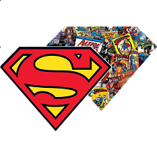 Superman - 2-sided Shaped Jigsaw Puzzle - Shaped