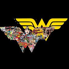 Wonder Woman - 2-sided Shaped Jigsaw Puzzle -