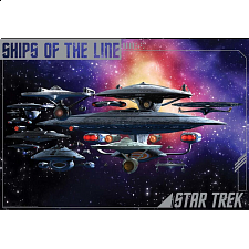Star Trek Federation Ships - 1001 - 5000 Pieces