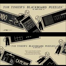 Tom Tinker's Blackboard Puzzles - Book -