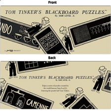 Tom Tinker's Blackboard Puzzles - Book - Logic Puzzles