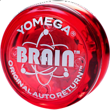 Brain (Red) - Auto Return Yo-Yo -