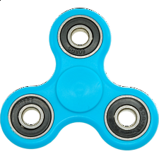 Hand Tri Spinner Anti-Stress Fidget Toy - Blue - Geeky Gadgets