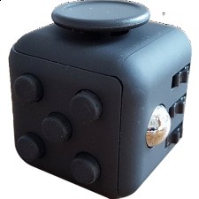 Anti Stress Fidget Cube - Black - New Items