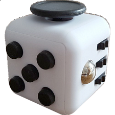 Anti Stress Fidget Cube - Black & White -