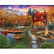 Cozy Cabin - Large Piece Jigsaws