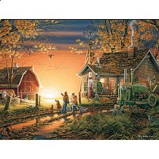 Terry Redlin - Morning Surprise - 1000 Pieces
