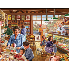 The Cake Shop - Large Piece Jigsaws