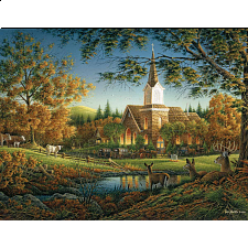 Terry Redlin - Sunday Morning - Large Piece Jigsaws