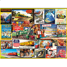 Travel By Train - Large Piece Jigsaws