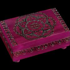 Floral Pattern Puzzle Box -