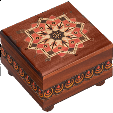 Kaleidoscope Puzzle Box #3 - Wooden Puzzle Boxes