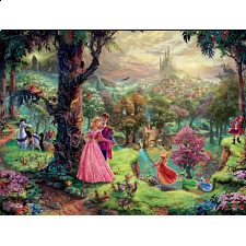Thomas Kinkade: Disney - Sleeping Beauty - 500-999 Pieces