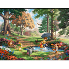 Thomas Kinkade: Disney - Winnie the Pooh I - 500-999 Pieces