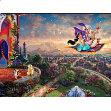 Thomas Kinkade: Disney - Aladdin - 500-999 Pieces