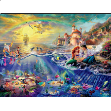Thomas Kinkade: Disney - The Little Mermaid - 500-999 Pieces