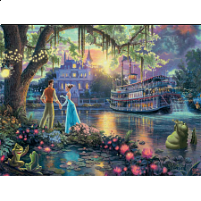 Thomas Kinkade: Disney - The Princess and the Frog - Large Piece - Designers