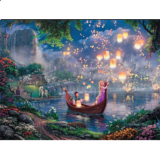 Thomas Kinkade: Disney - Tangled - Large Piece - Designers