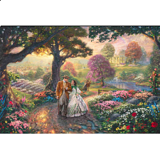 Thomas Kinkade: WB Movie Classics - Gone With The Wind - Designers