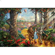 Thomas Kinkade: WB Movie Classics - Follow the Yellow Brick Road - Designers