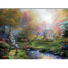 Thomas Kinkade - A Mother's Perfect Day - Designers