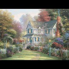 Thomas Kinkade - Victorian Garden II - Thomas Kinkade