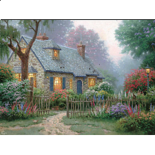 Thomas Kinkade - Foxglove Cottage - Search Results